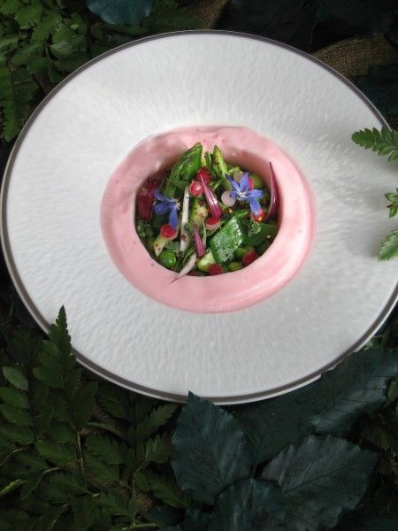 légumes de printemps à la marjolaine