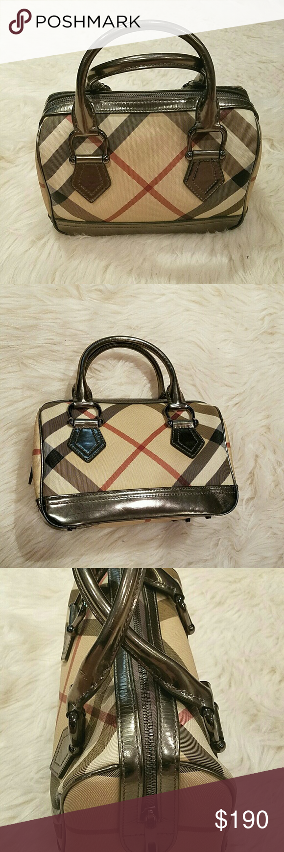 c53bf5f3b5e Fantastic BURBERRY Small Metallic Doctors Bag