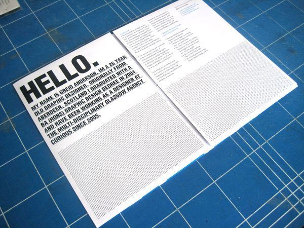 The Art of Typography #65 u2013 Effektive CV\/Poster Mailer - google resume