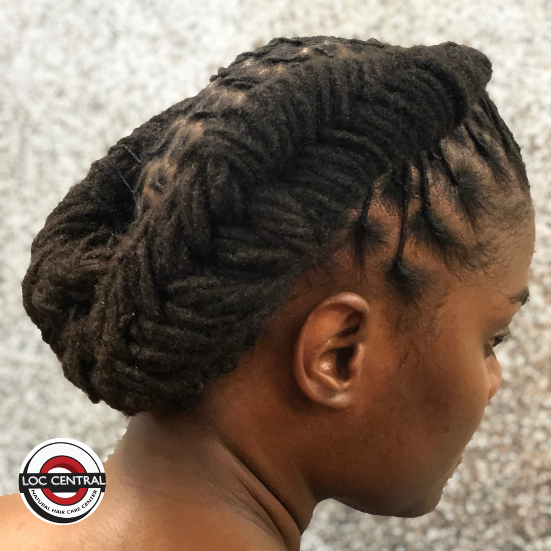 braided beauty! call 301-272-0101 to get this look! | loc