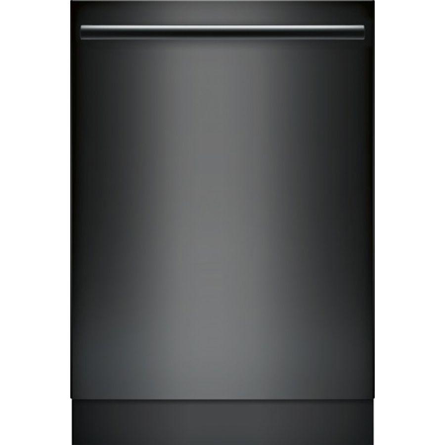 Bosch 800 Series 44 Decibel Built In Dishwasher Black Lowes Com Black Dishwasher Built In Dishwasher Fully Integrated Dishwasher