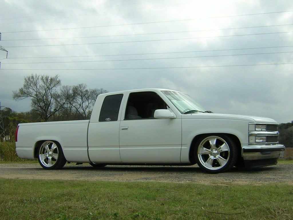 Static Drop On 2239s Trucks Gmc Trucks Pickup Trucks Lowrider