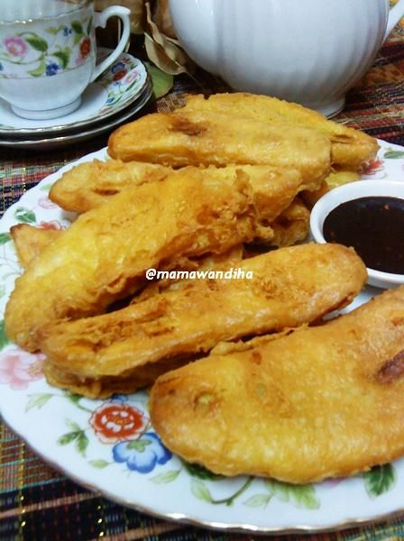 Dari Dapur Madihaa Pisang Goreng Crispy