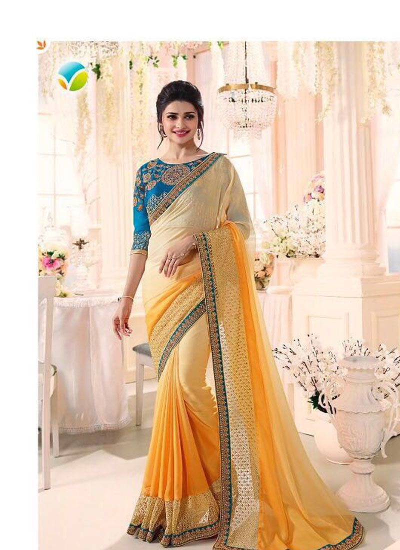 Fancy Glamorous designer saree latest collection forecasting to wear for summer in 2019