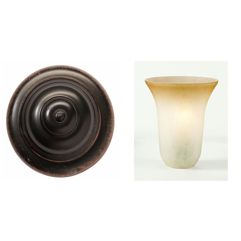 Photo of Kalco 5523 Additional surface and color options for Amelie 3 Light Bathroom Vanit …