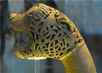 Art Through the Ages | Animal Head from Oseberg Ship-Burial | Event view