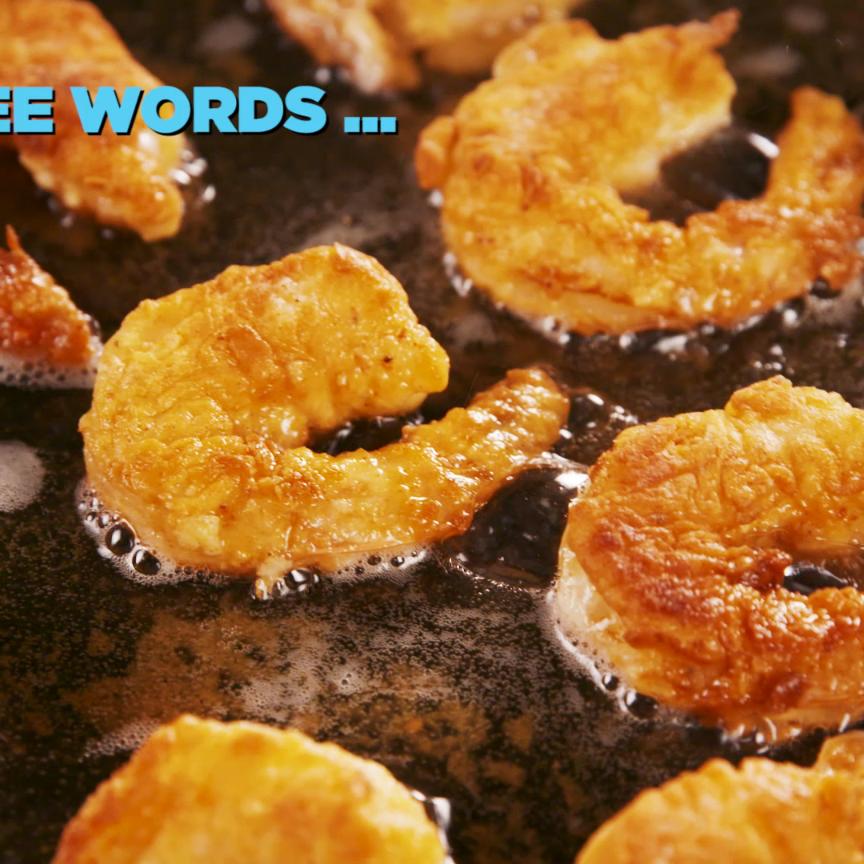 Photo of Crevettes frites au poulet