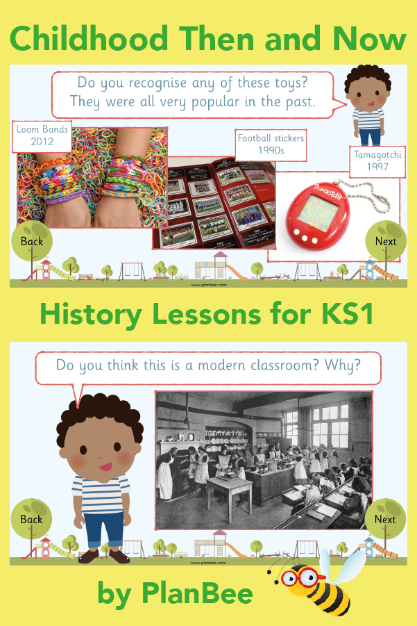 Childhood Then And Now History Lessons Childhood Printable Teaching Resources