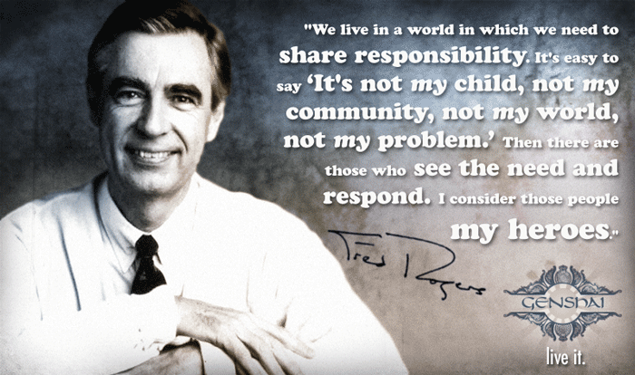 fred rogers military