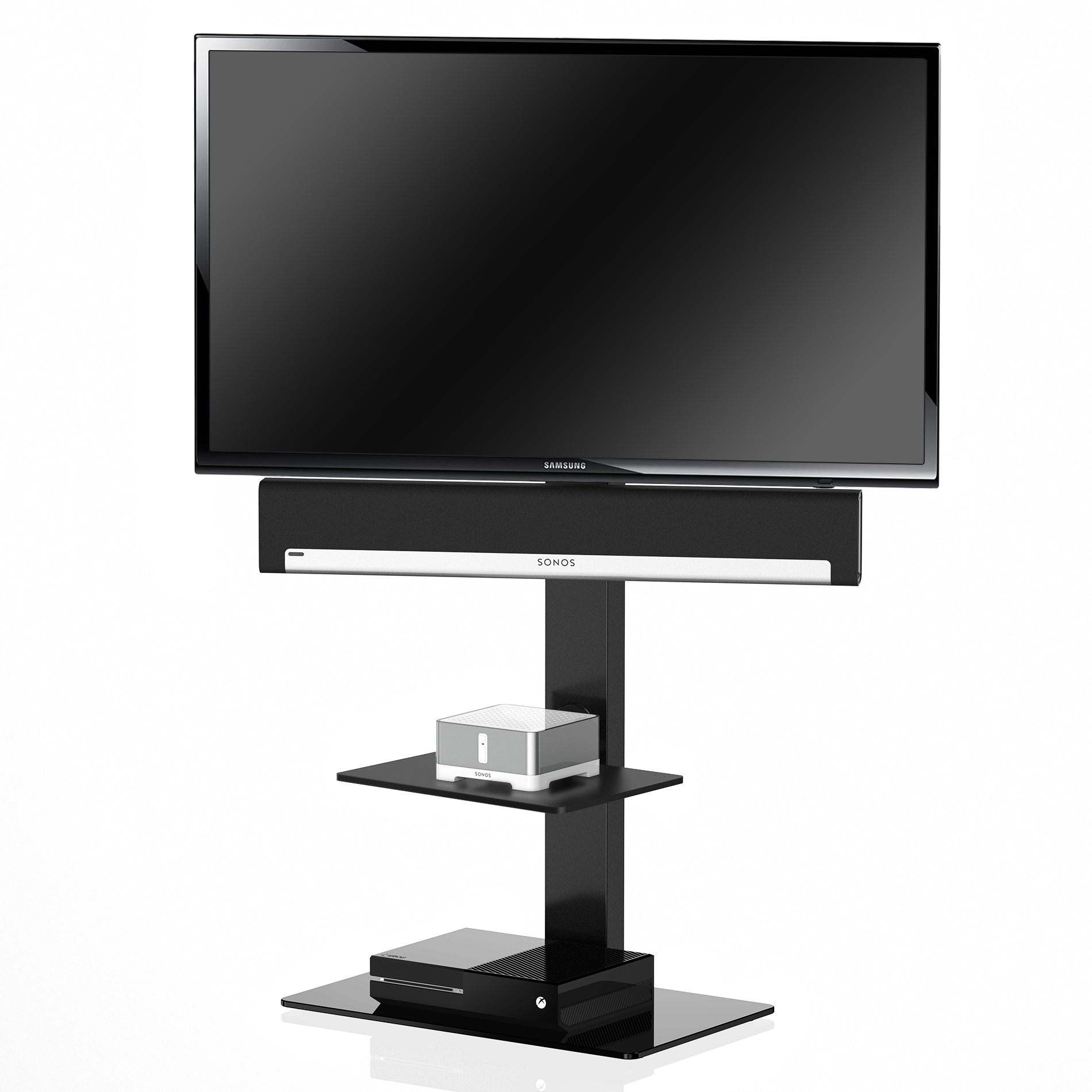 Model Number Tt207001mb Upc 611550180441 Product Detail Item Weight 35 Pounds Shipping Weight 42 2 Tv Floor Stand Tv Stand With Mount Swivel Tv Stand