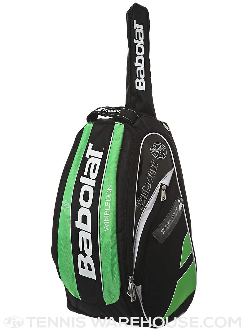 Babolat Team Wimbledon Backpack Bag Green Backpacks Bags Backpack Bags