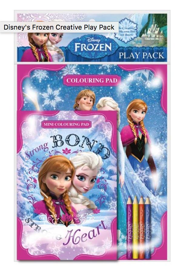 Frozen Colouring Book Set