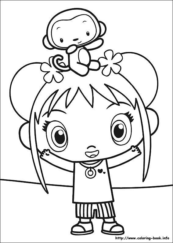 Ni Hao Kai-Lan coloring picture   Keagans favorites   Pinterest ...
