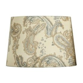 Portfolio 10 in x 14 in cream and blue drum lamp shade lowes portfolio 10 in x 14 in cream and blue drum lamp shade lowes aloadofball Choice Image