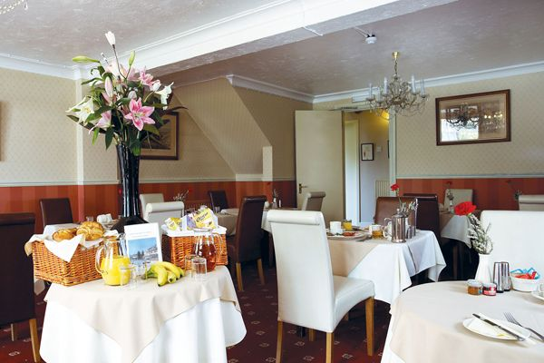 Ormonde House Hotel, Lyndhurst, Hampshire, England. Lunch.