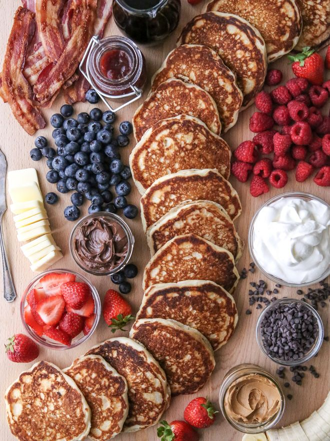 Build Your Own Pancake Board - Completely Delicious