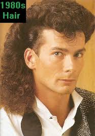 Mens 80S Hairstyles Amusing 1980S Men's Hair Was Permed And Also Saw The Birth Of The Mullet