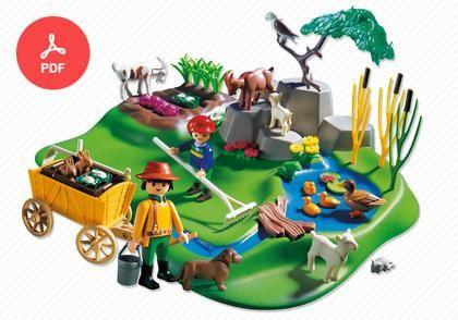 3124 Superset Bauernhof Playmobil Playmobil Deutschland Und