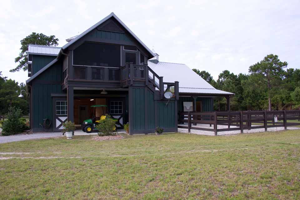 Beautiful Horse Barn W Living Quarters 9 Pictures Floor Plan