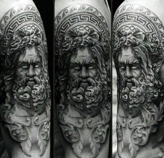 Tatouage Zeus Poseidon