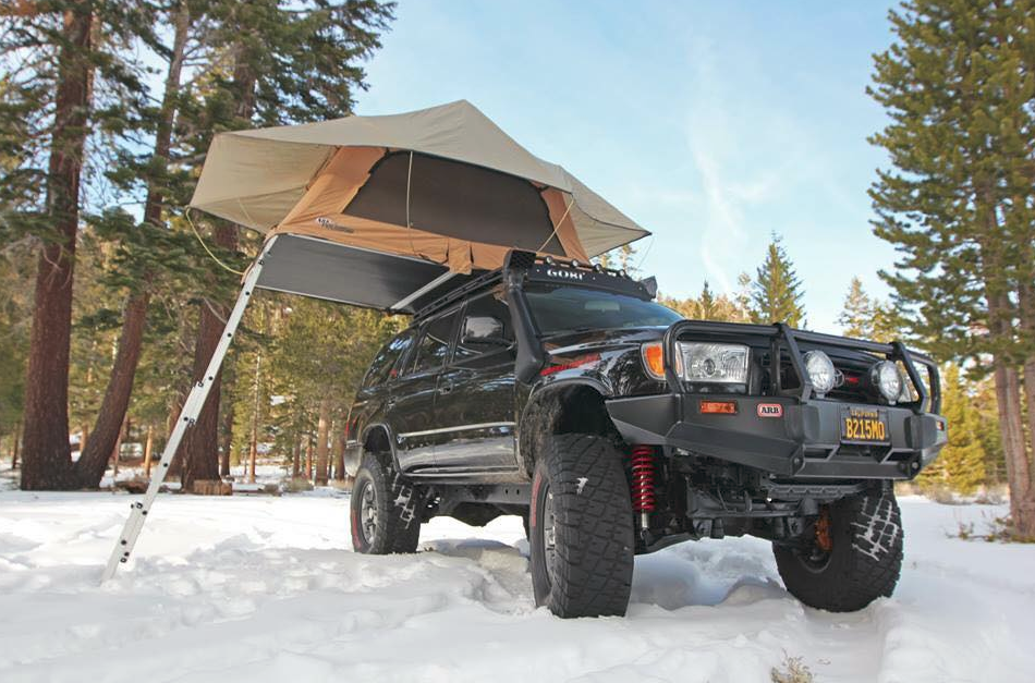 Jeeps & Roof top tents assemble in seconds which allow you more time ...