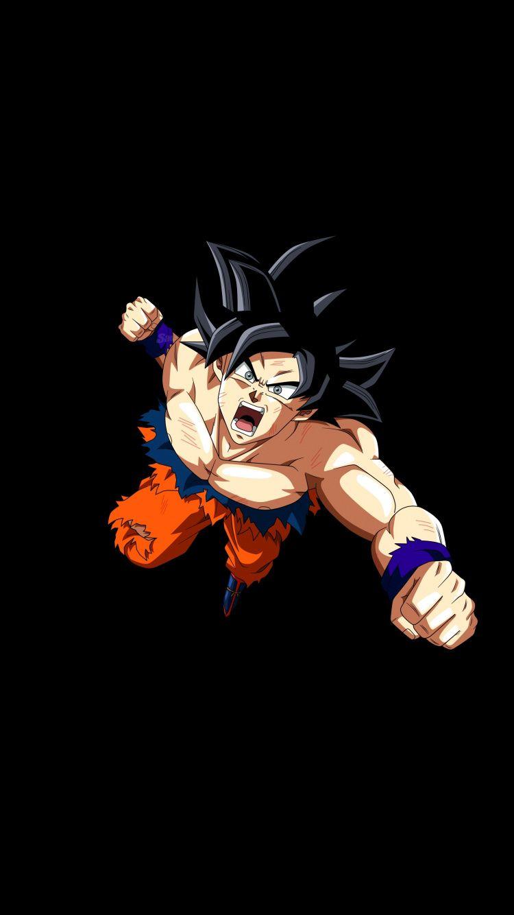 Goku Ultra Instinct Ready To Punch Angry Goku 750x1334 Wallpaper Wallpaper Dragon Ball Goku Anime