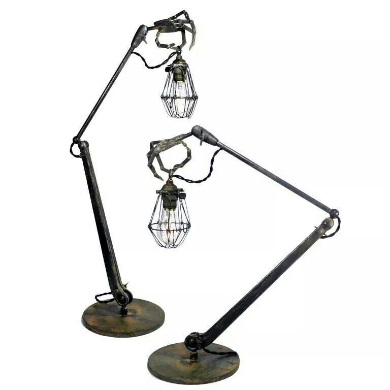 Steampunkish lamps