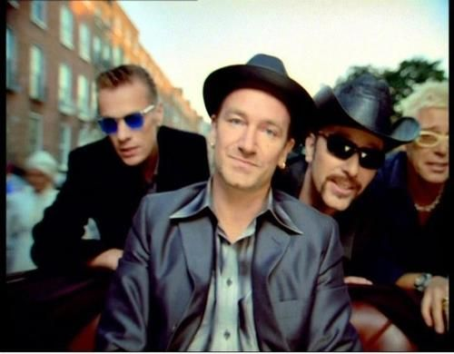 """U2, """"The Sweetest Thing"""" video"""