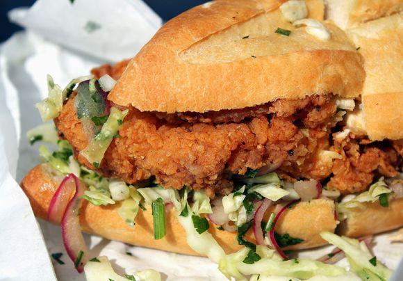 Bakesale Betty's Fried Chicken sandwich
