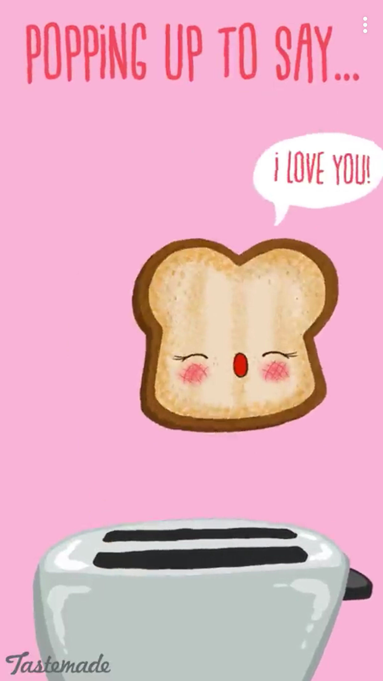 Popping Up To Say I Love You Punny Puns Funny Puns Funny Food Puns