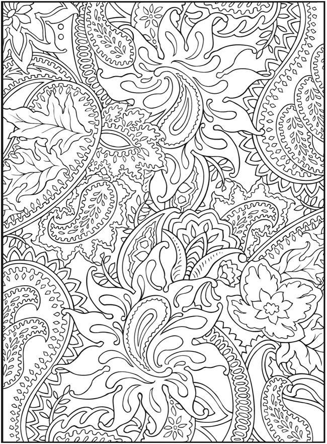 dover.jpg (650×881) | paisley | Pinterest | Ausmalbilder, Ausmalen ...