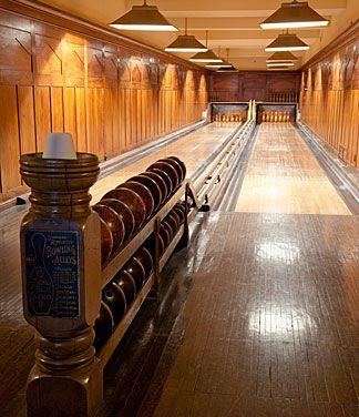 1900 S Era Basement Bowling Alley Nemours Mansion Nemours Mansion Historic Mansion Kim House