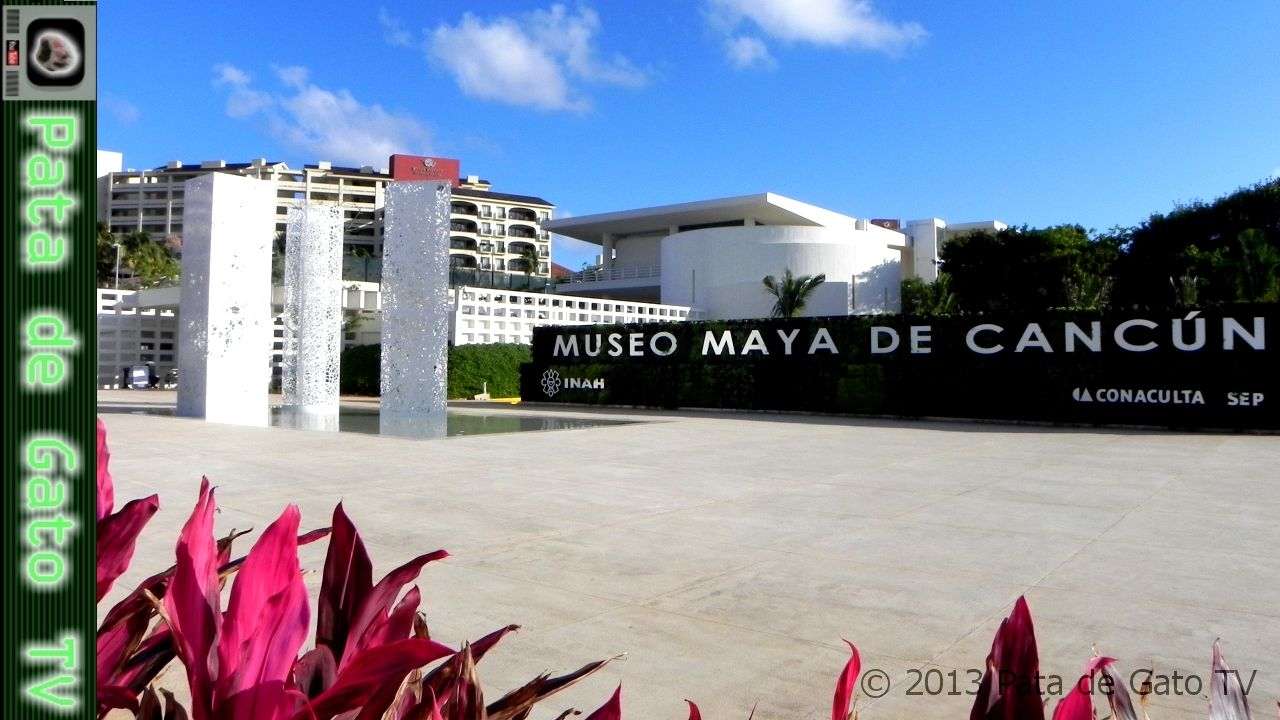 Museo Maya de Cancún / Mayan Museum of Cancun.  https://www.youtube.com/watch?v=AUSeI8ASf9M