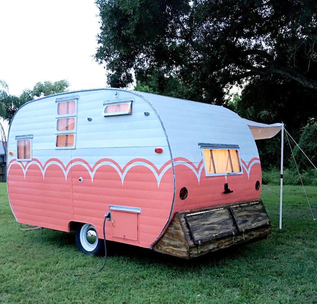 1955 Dalton Camper Vintage Camper Remodel Vintage Campers Trailers Vintage Camper