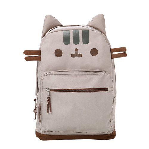 e284fcdaa7 Pusheen Cat Face Backpack | Claire's | Pop Culture & Kawaii Items ...