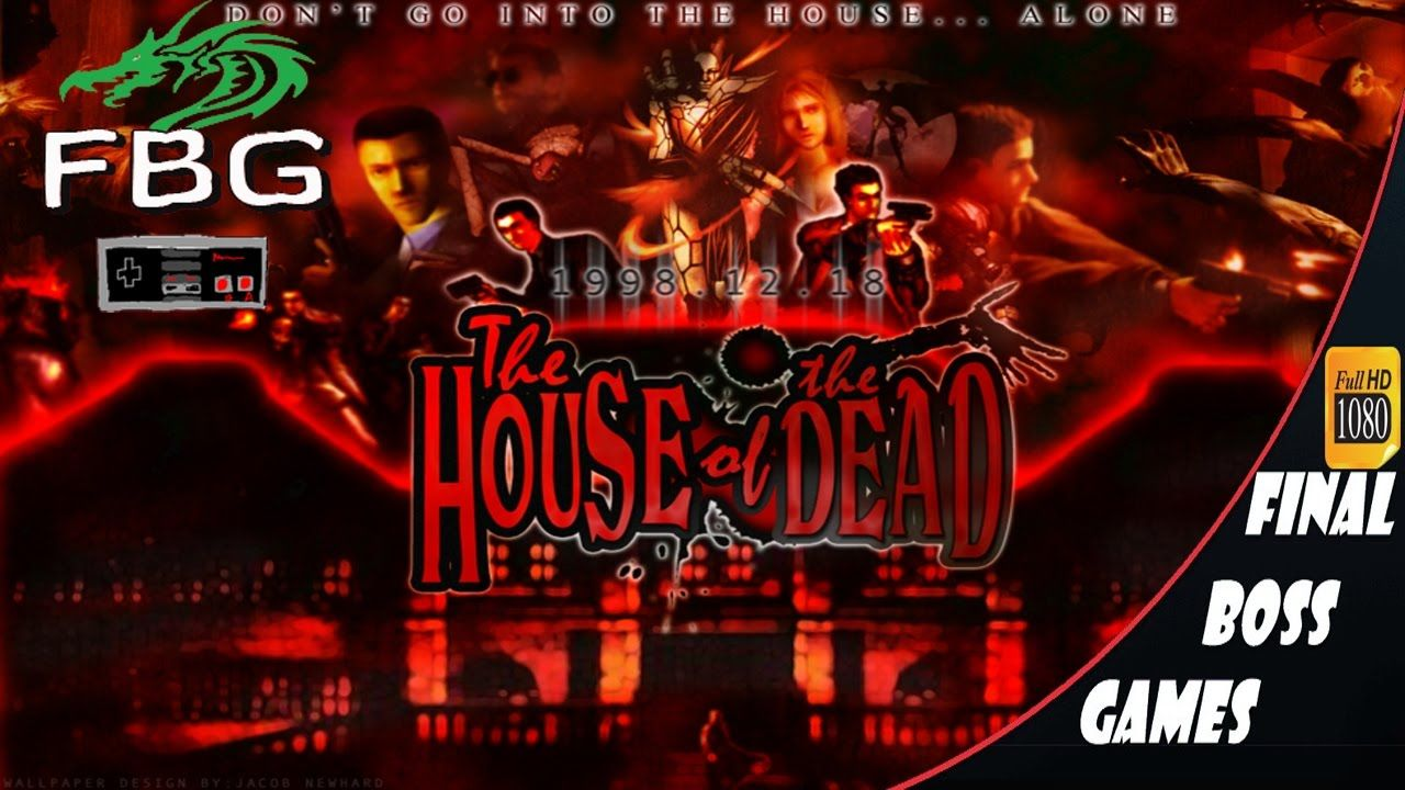 The House Of The Dead 1 2 3 4 Final Bosses Boss Games Video