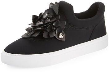 92d3c6cd7164 Tory Burch Blossom Neoprene Floral Sneaker  ad