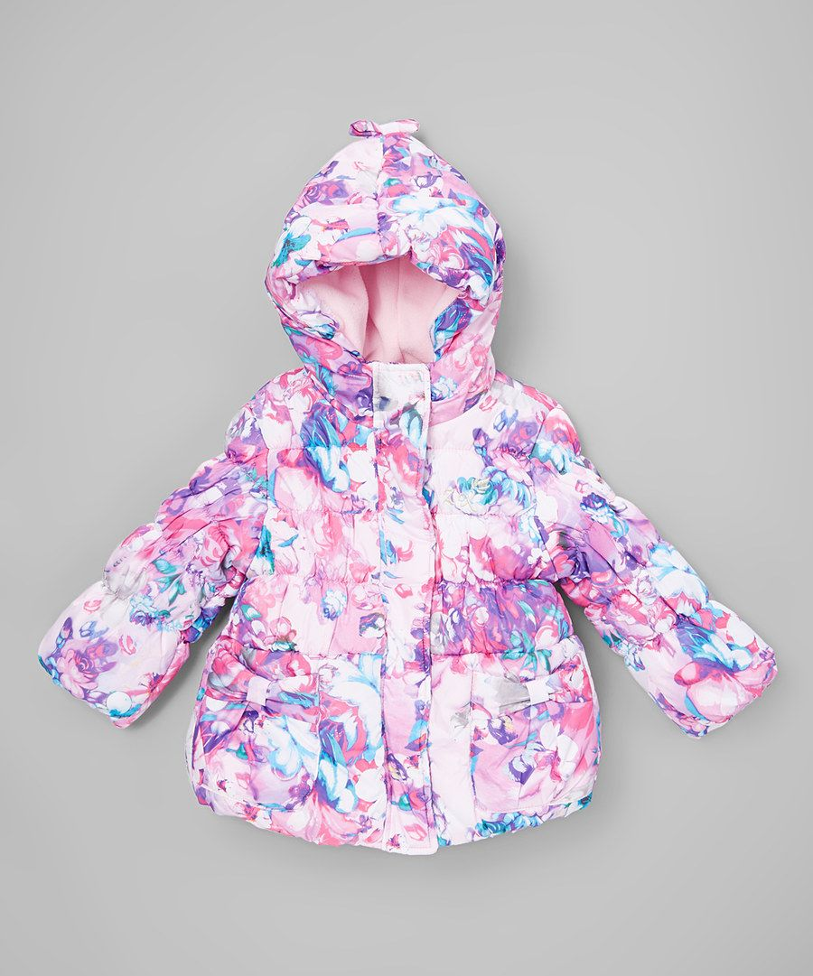 Look at this ZeroXposur Purple Floral Christie Jacket - Kids on #zulily today!