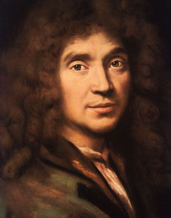 Molière - Renowned French playwright, author of Le Bourgeois Gentilhomme, and so many others!