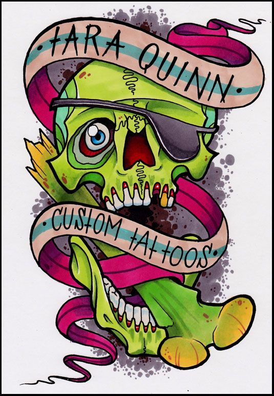 Tattoo Flash Art Color