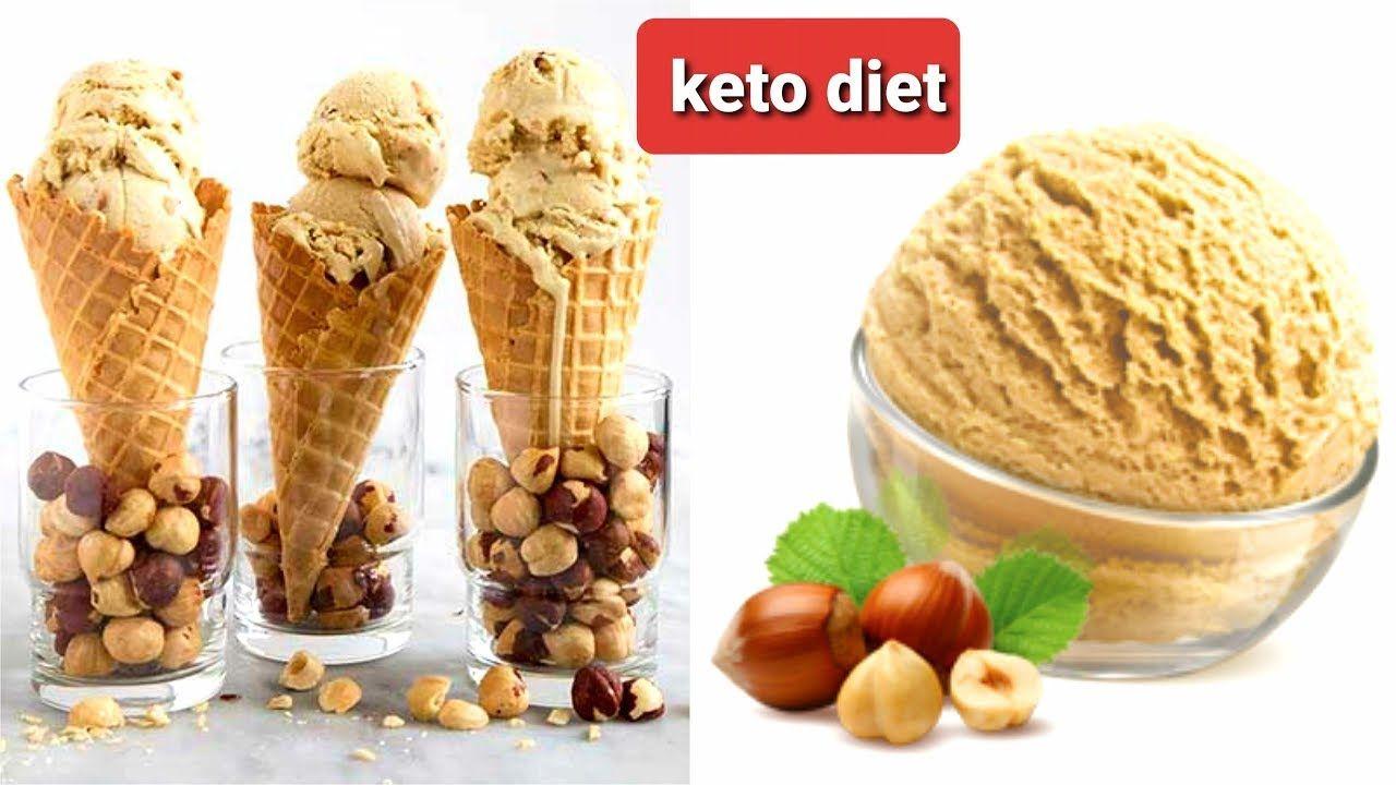 ايس كريم البندق كيتو دايت Hazelnut Ice Cream Keto Diet Keto Diet Food Keto