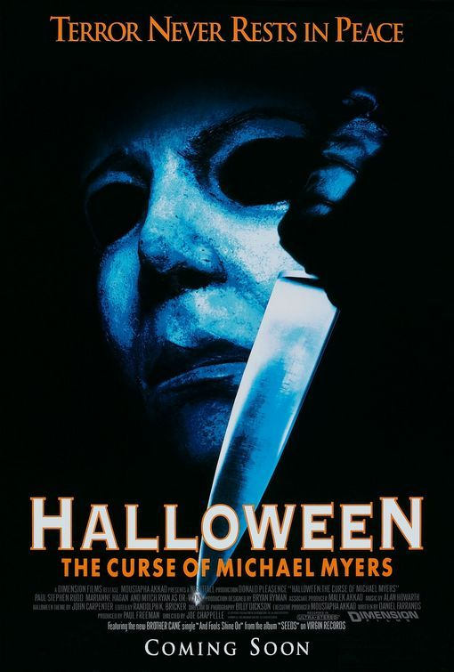 halloween the curse of michael myers movie poster internet movie poster awards gallery - Halloween Movie History