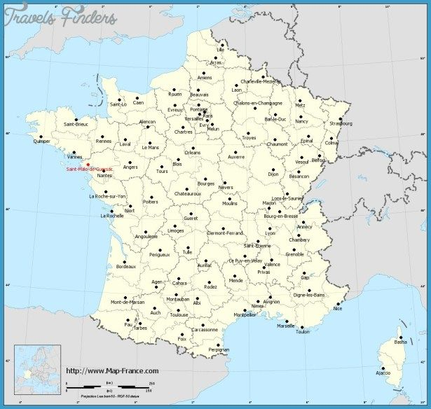 St Malo Map France Map Map Town Map