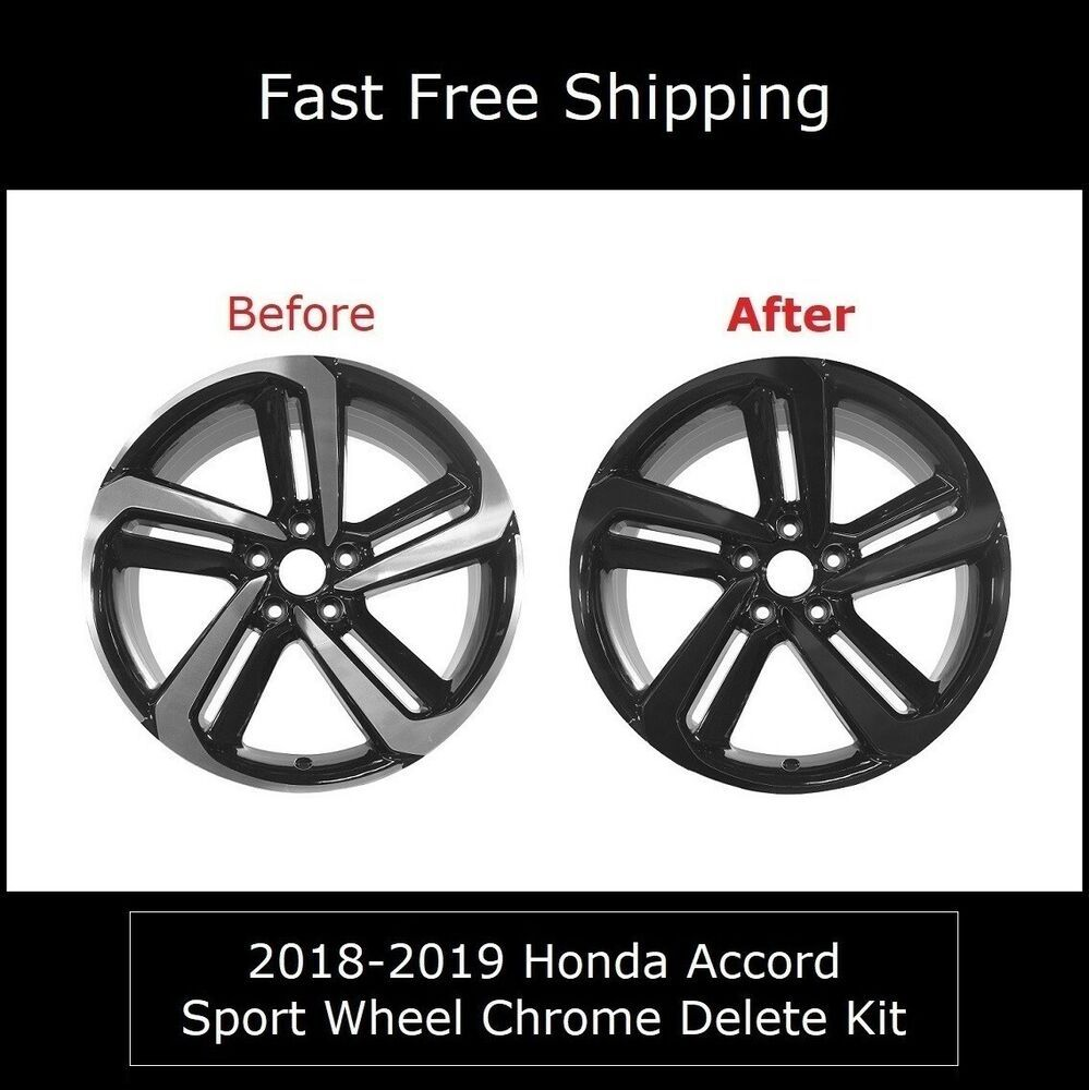 201820 Honda Accord Sedan Sport Wheels Rim Chrome Delete