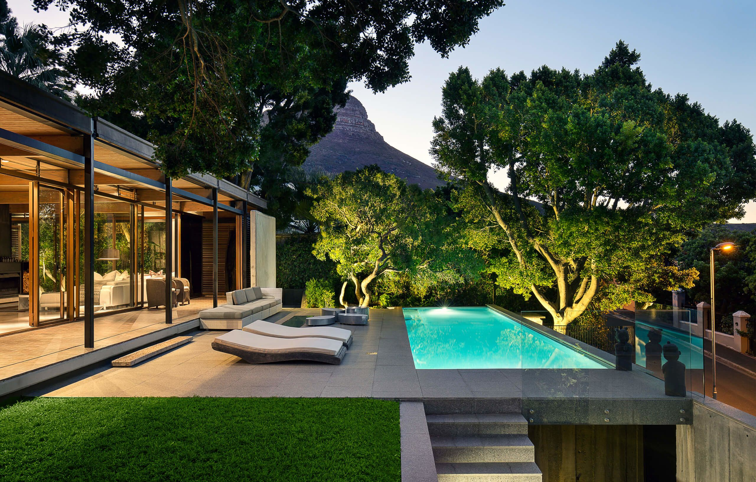 Zen Beauty by Gilbert Colyn Receives Architectural Touch Up | Cape on luxury modern home design, luxury contemporary home design, luxury zen bathroom,