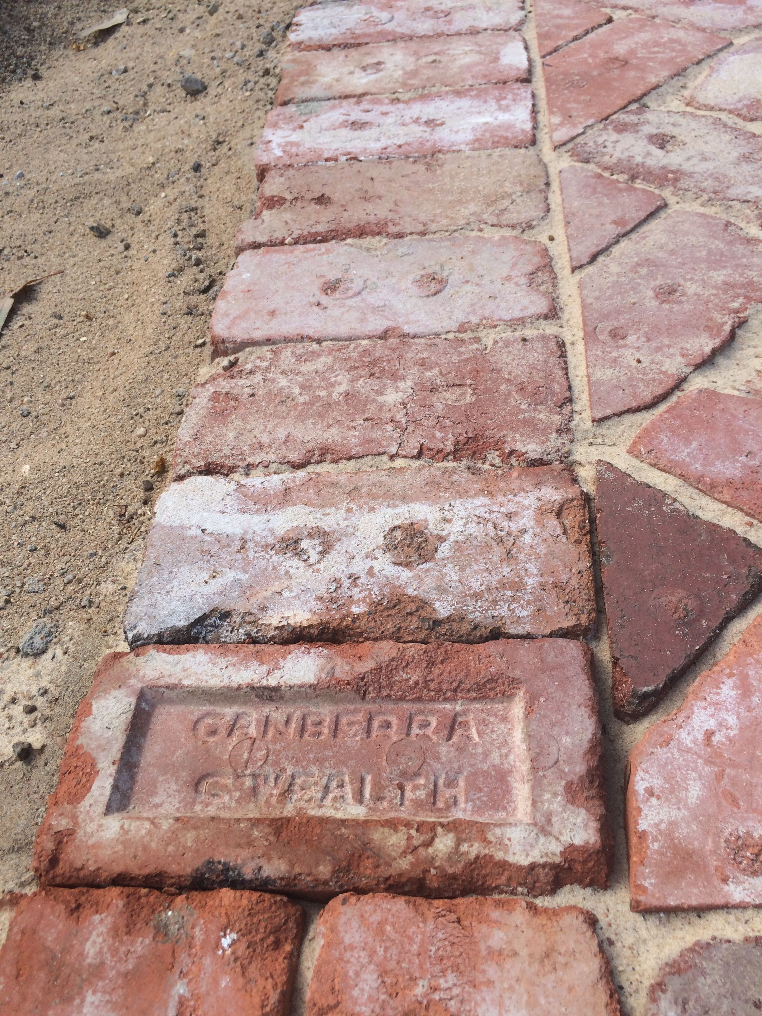 Recycled Canberra Red Brick Driveway Canberra Red Brick