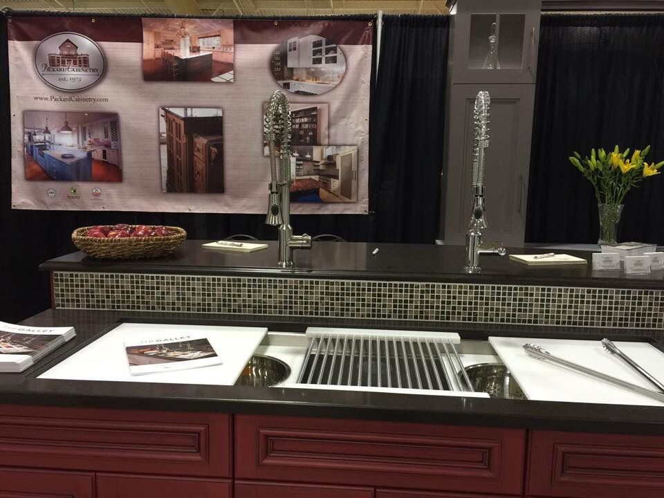Galley Sink On Display At Asheville Kitchen And Bath Show