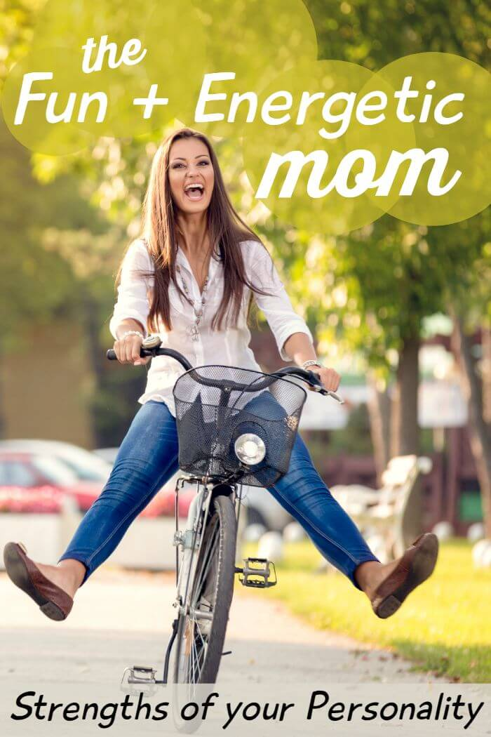 How the Fun + Energetic Mom Blesses Her Children