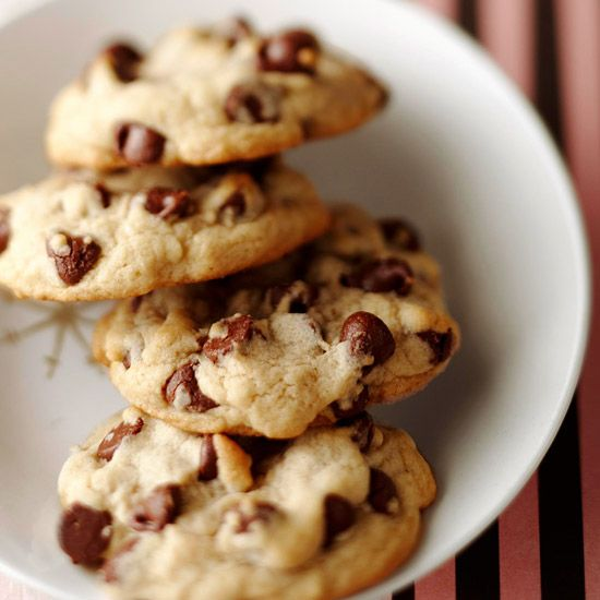 Celebrate National Chocolate Chip Day with our Essential Chocolate Chip Cookies! Recipe: http://www.bhg.com/recipe/desserts/essential-chocolate-chip-cookies/?socsrc=bhgpin0515121