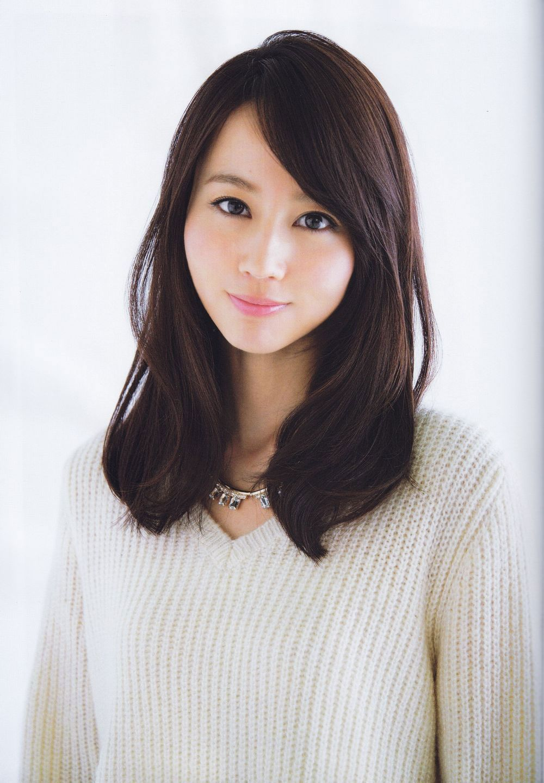 Horikita Maki    ヘアスタイリング, 中髪, アジア風ヘアカット